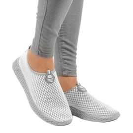 Calçados esportivos femininos cinza SJ1890-2 2