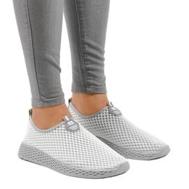 Calçados esportivos femininos cinza SJ1890-2 1