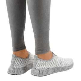 Calçados esportivos femininos cinza SJ1890-2 3