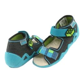 Sapatos infantis Befado amarelo 350P006 4