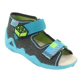 Sapatos infantis Befado amarelo 350P006 1