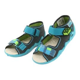 Sapatos infantis Befado amarelo 350P006 3
