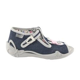 Calçado infantil Befado 213P119 cinza 1