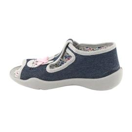 Calçado infantil Befado 213P119 cinza 3