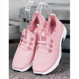 Kylie Calçados Esportivos Clássicos -de-rosa 2