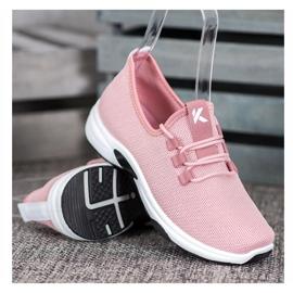 Kylie Calçados Esportivos Clássicos -de-rosa 1