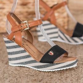 Goodin Sandálias de cunha na moda 1