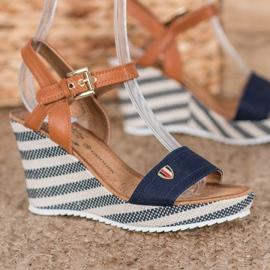 Goodin Sandálias de cunha na moda 2
