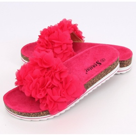 Pantufas flor fúcsia BG47P fúcsia rosa 4