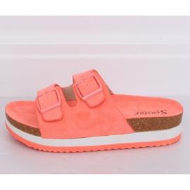 Chinelos Coral SS115P Coral multicolorido laranja 2