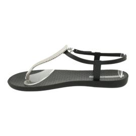 Ipanema preto 82862 sandálias pretas 1