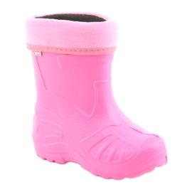 Galochas de calçado infantil Befado 162Y101 rosa 1