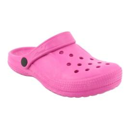 Befado sapatos infantis rosa 159Y001 -de-rosa 2