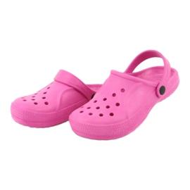 Befado sapatos infantis rosa 159Y001 -de-rosa 4