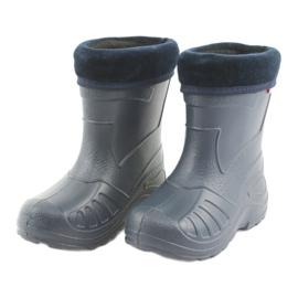 Botas de chuva azul marinho Befado infantil 162x103 3