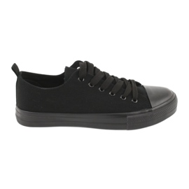 Sapatilhas pretas American Club LH16 preto 1