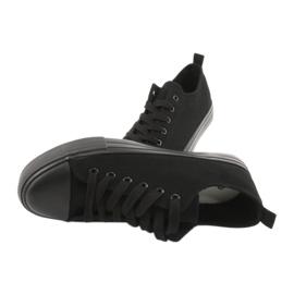 Sapatilhas pretas American Club LH16 preto 6