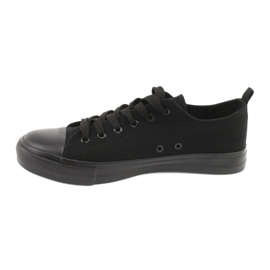 Sapatilhas pretas American Club LH16 preto 2