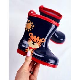 Botas de chuva de borracha para crianças. Azul marinho Tigger 3