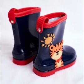 Botas de chuva de borracha para crianças. Azul marinho Tigger 2