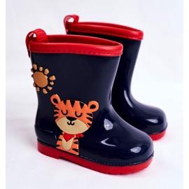 Botas de chuva de borracha para crianças. Azul marinho Tigger 1