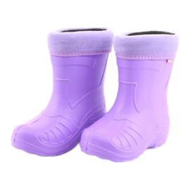 Sapatos infantis Befado galocha-violeta 162P102 tolet 3