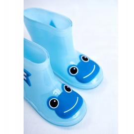 Galochas de borracha para crianças Sapo Azul 5