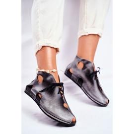 Sapatos femininos Maciejka Popiel 03426-03 cinza 3