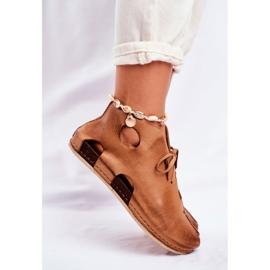 Maciejka Rude sapatos baixos para mulher 03426-19 marrom 3