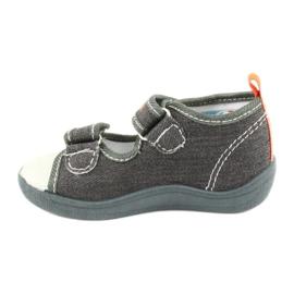 American Club Sandálias americanas sapatos infantis palmilha de couro TEN46 1