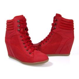 Sapatilhas Boots On Wedge 562 Vermelho 1