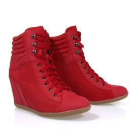 Sapatilhas Boots On Wedge 562 Vermelho 2