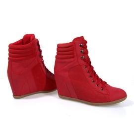 Sapatilhas Boots On Wedge 562 Vermelho 4