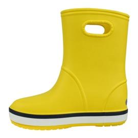Crocs Crocband Rain Boot Kids 205827-734 vermelho amarelo 1