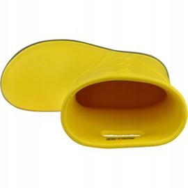 Crocs Crocband Rain Boot Kids 205827-734 vermelho amarelo 2