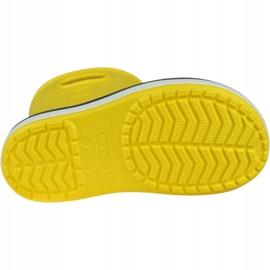 Crocs Crocband Rain Boot Kids 205827-734 vermelho amarelo 3