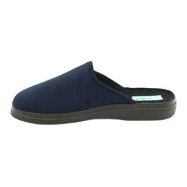 Sapatos masculinos Befado pu 132M006 marinha 2