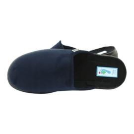 Sapatos masculinos Befado pu 132M006 marinha 5