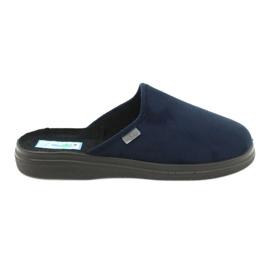 Sapatos masculinos Befado pu 132M006 marinha 1