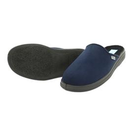 Sapatos masculinos Befado pu 132M006 marinha 4
