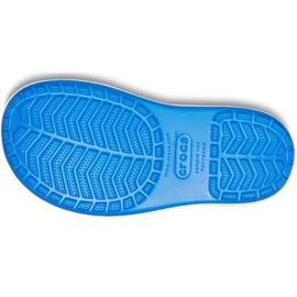 Botas de chuva Crocs para crianças Bota de chuva Crocband Kids azul 205827 4KD 5