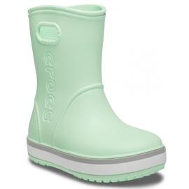 Botas de chuva Crocs para crianças Bota de chuva Crocband Kids verde 205827 3TO 2