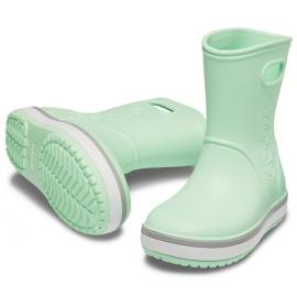 Botas de chuva Crocs para crianças Bota de chuva Crocband Kids verde 205827 3TO 3