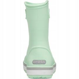 Botas de chuva Crocs para crianças Bota de chuva Crocband Kids verde 205827 3TO 4