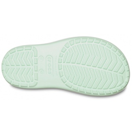 Botas de chuva Crocs para crianças Bota de chuva Crocband Kids verde 205827 3TO 5