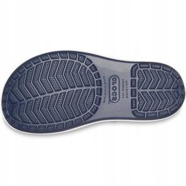 Botas de chuva Crocs para crianças Bota de chuva Crocband Kids azul marinho 205827 4KB 5