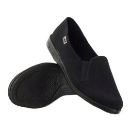 Sapatilhas pretas slip-on Befado 001M060 preto 3