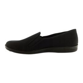 Sapatilhas pretas slip-on Befado 001M060 preto 2
