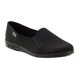 Sapatilhas pretas slip-on Befado 001M060 preto 1