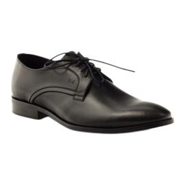 Sapatos clássicos de homem Pilpol 1329 black preto